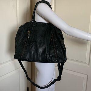 Tano Italian Leather Hobo Bag